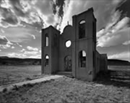 Alan  Ross - Burned Church, Las Mesitas, Colorado