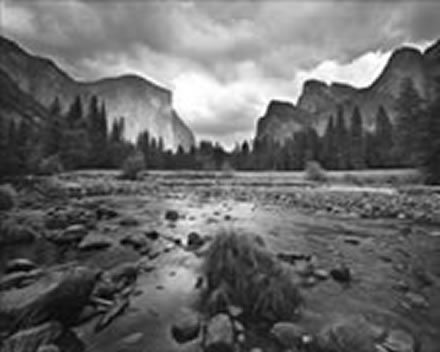 Alan  Ross - Gates of the Valley, Autumn Storm, Yosemite National Park