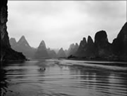 Alan  Ross - Children Wading; Li River, China