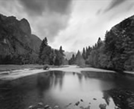 Alan  Ross - Sentinel Rock, Merced River, Yosemite National Park