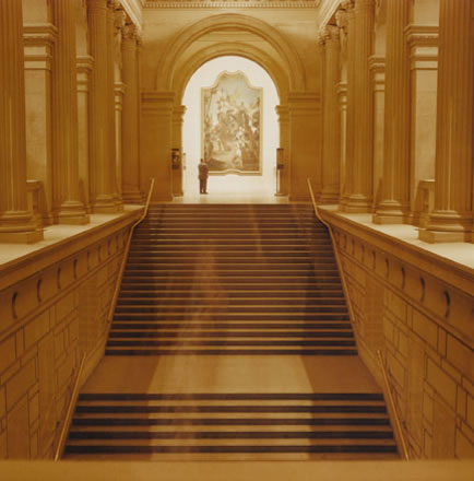 Debra Bloomfield - Grand Staircase, Metropolital Museum of Art, New York