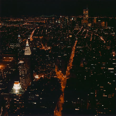 Debra Bloomfield - Black Night, Manhattan
