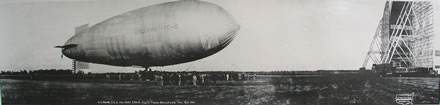 Eugene Goldbeck - U.S. Army TC 6 Dirigible and Partial Crew, Scott Field, Belleville, IL