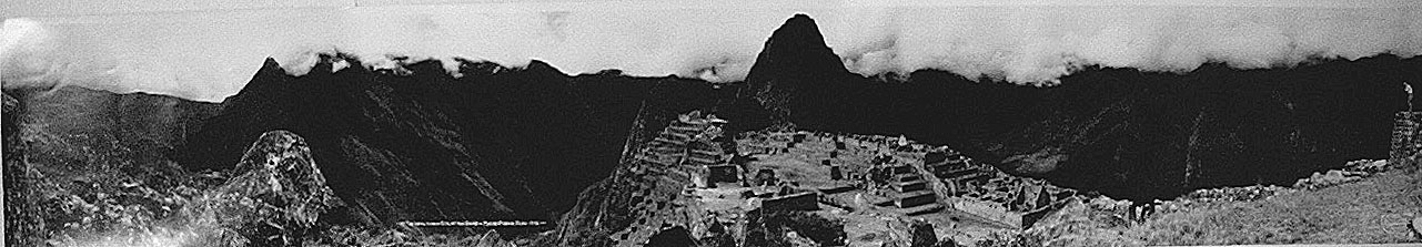 Eugene Goldbeck - The Long Hidden City of the Incas - Machu Picchu, Peru