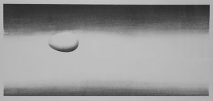Edward Ruscha - Domestic Tranquility (Egg)