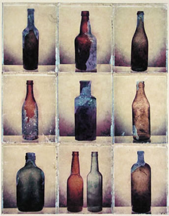 Joseph McDonald - Untitled (Ten bottles)