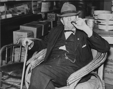 Marion Post-Wolcott - Mr. Whitley in his Country Store