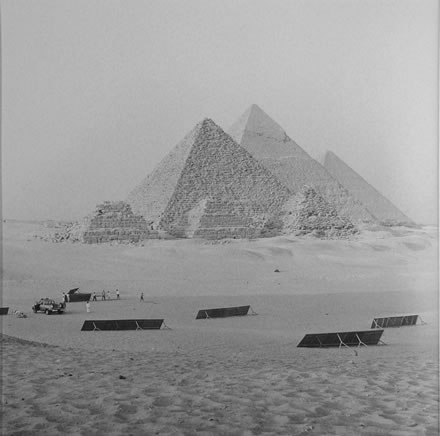 Richard Barnes - Desert Signboards, Giza, Egypt