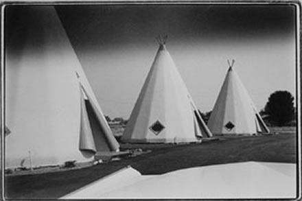 Roger Minick - Tee-Pee Motel (from the Southland Series)