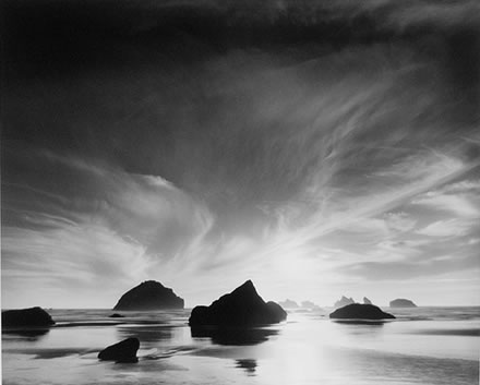 Stuart Levy - Sunset, Face Rock, Bandon, Oregon